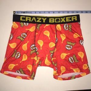 Crazy Boxers Pringles Chips Briefs in Pringles Tube